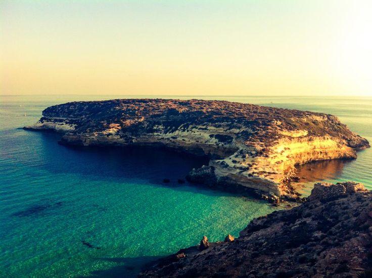 Isola dei Conigli, Lampedusa [@reyconlay, #LaMiaSpiaggia]