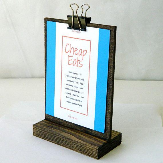 17 best images about menu on pinterest salad menu for Table sign design