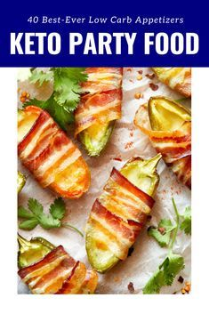 40 best Keto appetizer recipes! Low carb snacks for the day of the match   – Keto AF