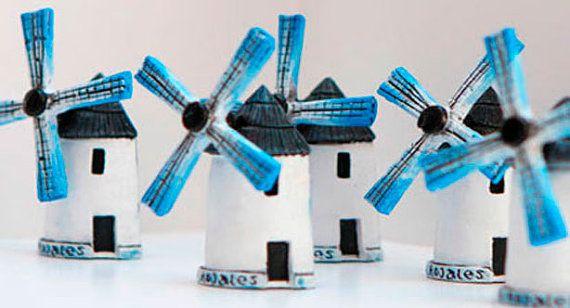 Molino de viento de España por SoydeArte en Etsy