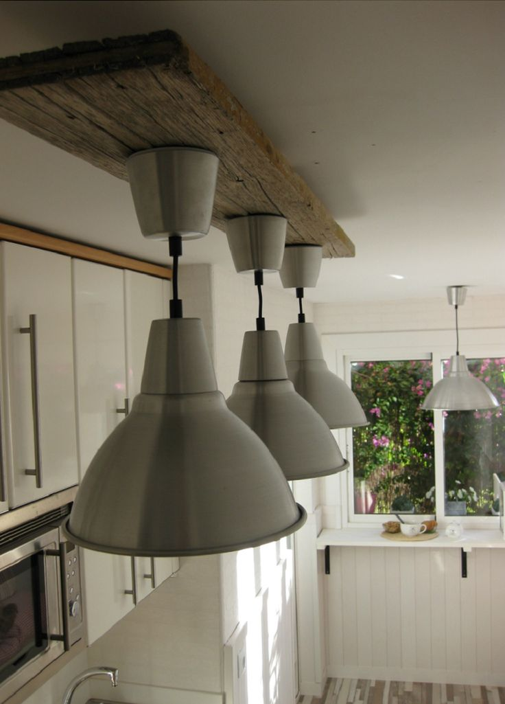 Stylish metal lampshade spray painted with Novasol Pinty Plus Evolution paint for a soft yet contemporary feel.