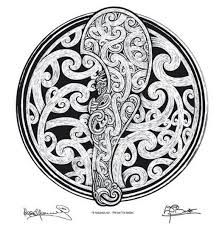 Image result for maori pattern colouring in book