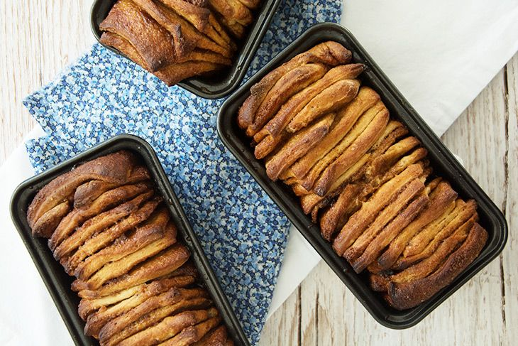 Kanelbrød - Pull Apart Bread ➙ Opskrift fra Valdemarsro.dk