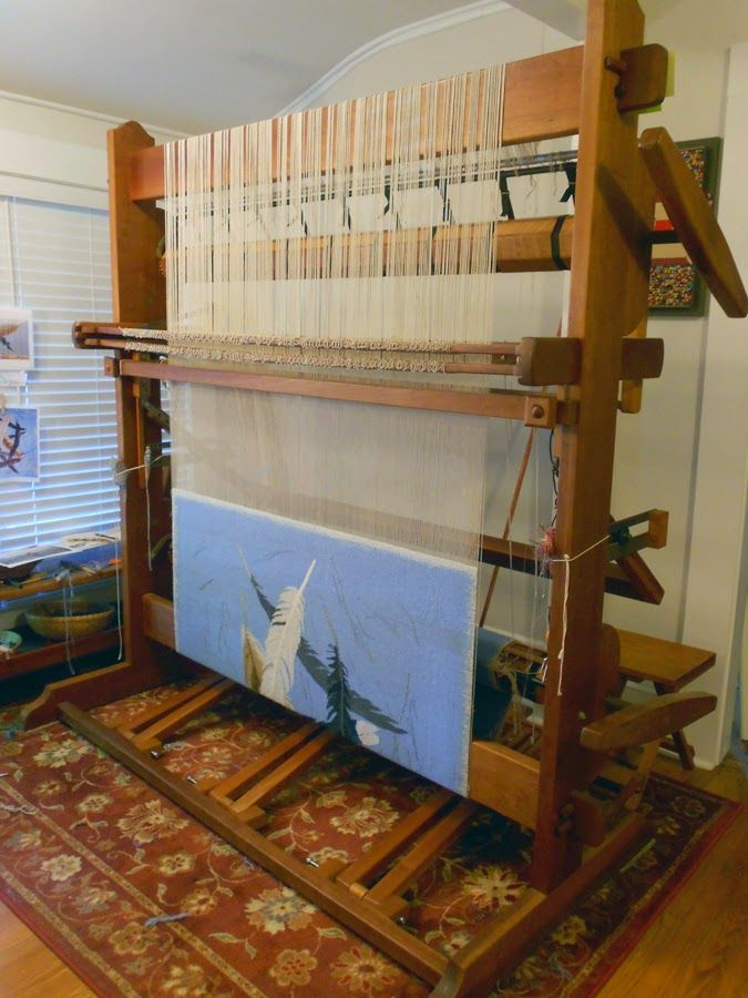Rebecca Mezoff, Tapestry Artist: Which tapestry loom is right for me? Part 2: High-warp looms