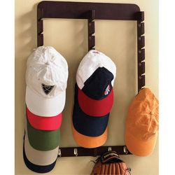 25 best ideas about baseball hat display on pinterest for Baseball hat storage ideas