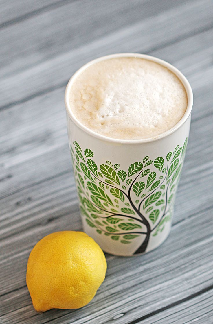 Vanilla Lemon Soy Latte - make this unique but delicious combination right at home! #ad ‪#‎ILoveSilkSoy‬