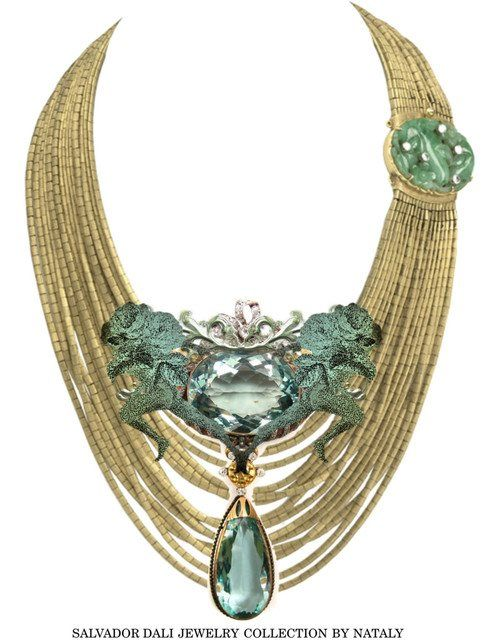 Salvadore Dali Jewelry Collection.