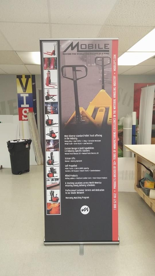 Retractable #banners are a budget friendly solution for your marketing needs!