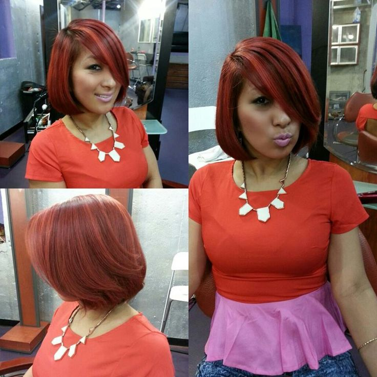 42 best hair bob images on pinterest hairstyles short hair and red bob love the color pmusecretfo Gallery