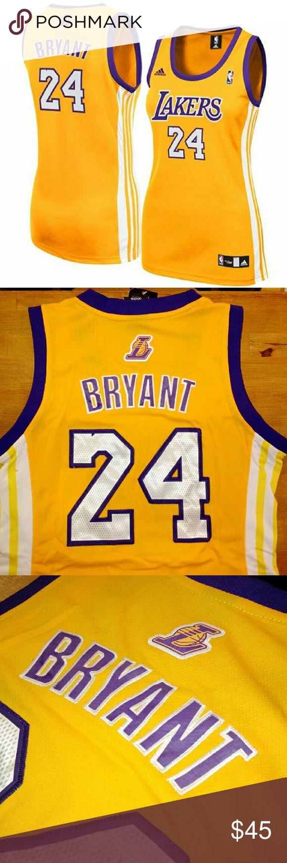 Women's LA Lakers 24 Kobe Bryant Jersey 🐍🏀 All the names