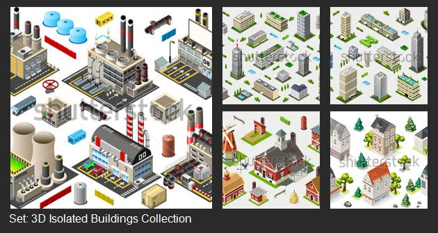 Build your own 3D game! Mix the power of vector images with isometric style!