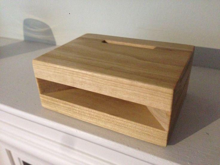 Wooden smartphone amplifier