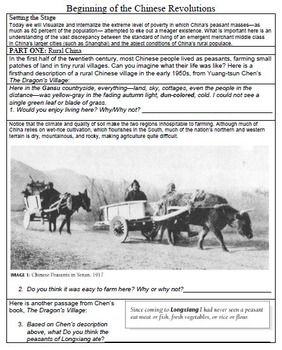 primary source analysis essay mao Instructions for primary source analysis essay: due in class 3/7  for this  assignment, you will bring to class a copy of a primary source that you are  considering using for your research (or an excerpt  (newspaper article, map,  letter, film, etc.