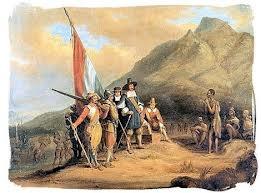 Jan van Riebeeck meets the Khoikho