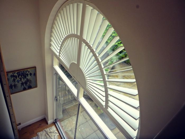 Interior Arched Shutters Aspect Window Styling Pinterest Interiors And Shutters