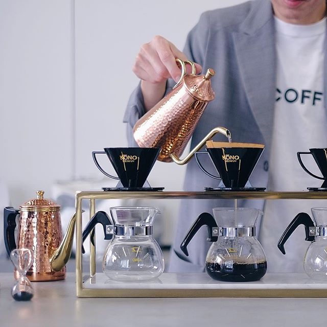 Pour over coffee Japan