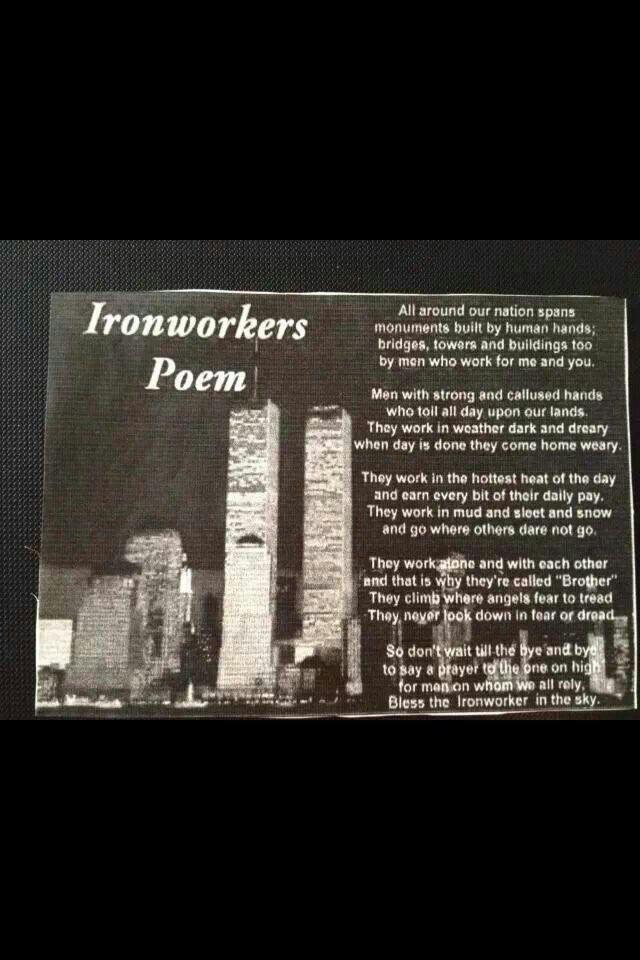 Ironworkers Poem