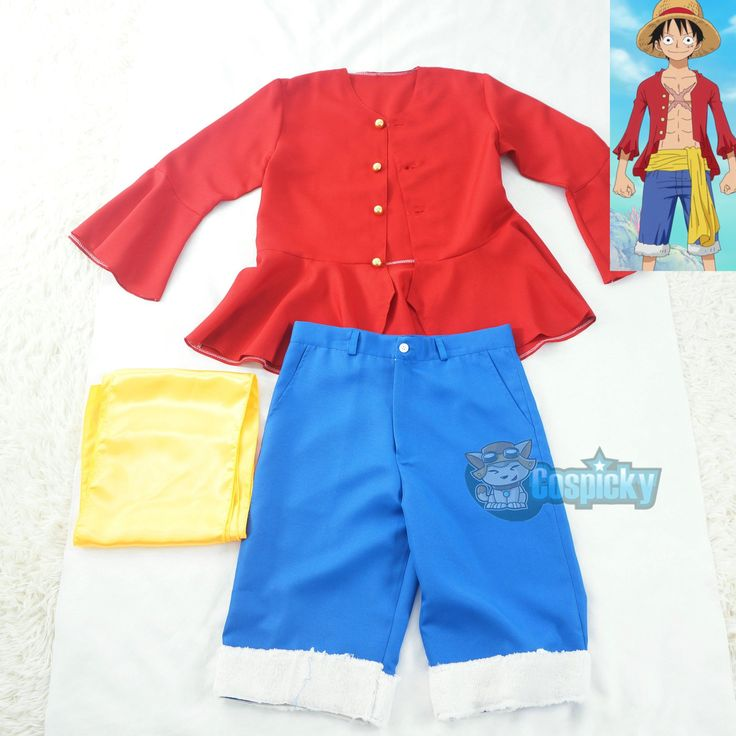 One Piece Monkey D. Luffy Cosplay Outfit CP166633