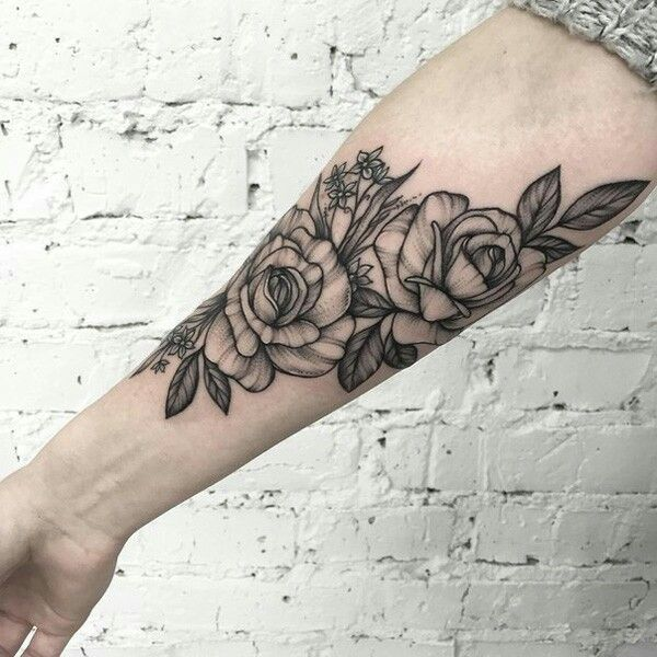 61 Best Images About Tattoo: 61 Best Images About Rose Tattoos On Pinterest
