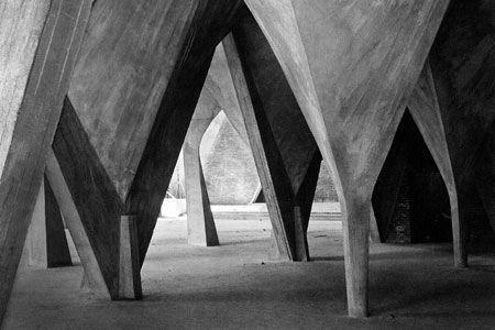 Narvarte church by Felix Candela (1954)