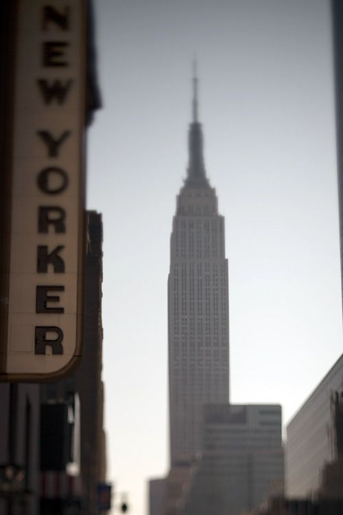 The New Yorker Hotel. I stayed there during my visit, my room had a view of the Empire State Building!
