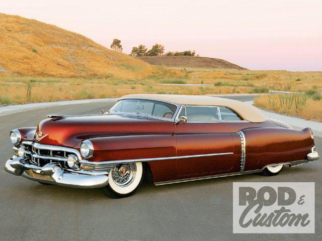 hot rod cadillacAntiques Classic, Classic Cars, Vintage Cars, 1952 Cadillac, Rods Cadillac, Vintage Cadillac, Old Cars, Hot Rods, Cadillac Convertible