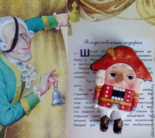 Коллекционные куклы ручной работы. Ярмарка Мастеров - ручная работа. Купить Щелкунчик и мышиный король.Елочные Игрушки из ваты.. Handmade.