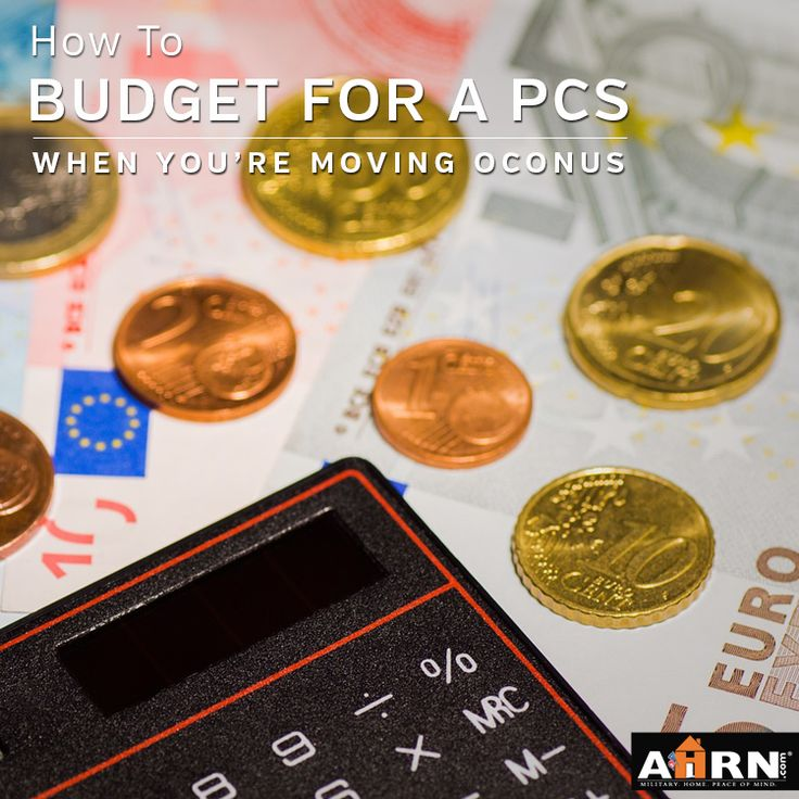 My first post in a seven-part series about budgeting for an OCONUS PCS. Headed to Germany or know someone who is? Read, like, share, and re-pin this post to help them gather the information they'll need for a successful overseas move! #milspouse #germany #pcs