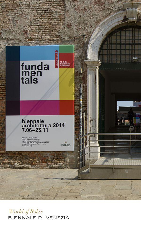 Biennale di Venezia #Architecture #RolexOfficial