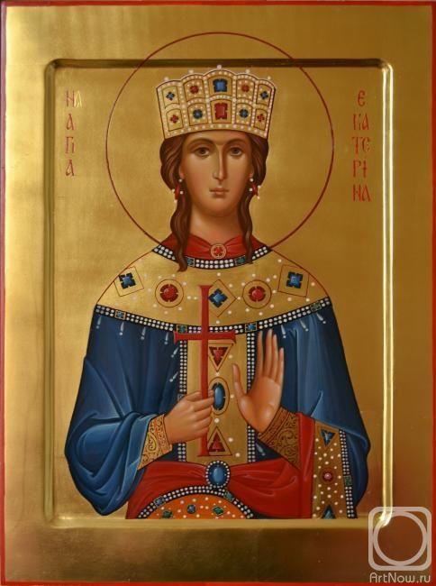 St. Katherine by Maria Rodina