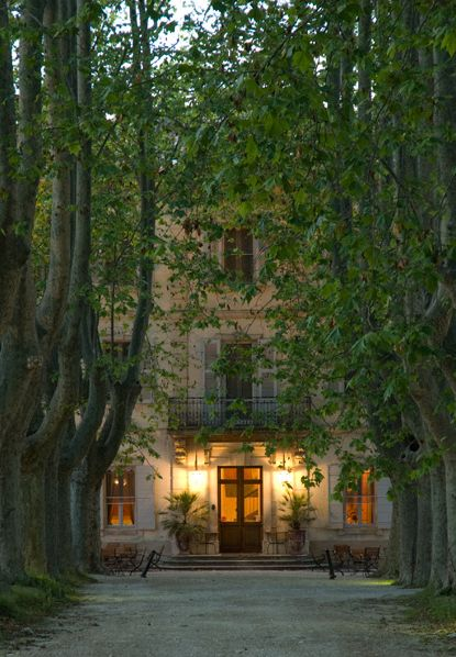 COUNTRY HOME. country hotel, Chateau des Alpilles, near St. Remy de Provence. Photography by John Miranda