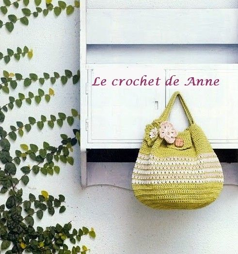 Crochet Bag Drawstring Pattern : 17 Best images about Crochet Bags, Purse, Totes ~ Free ...
