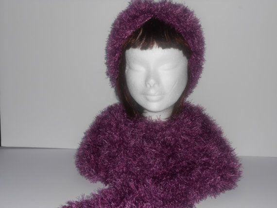 Crochet scarf. women's long crochet scarf crochet by AluraCrafts