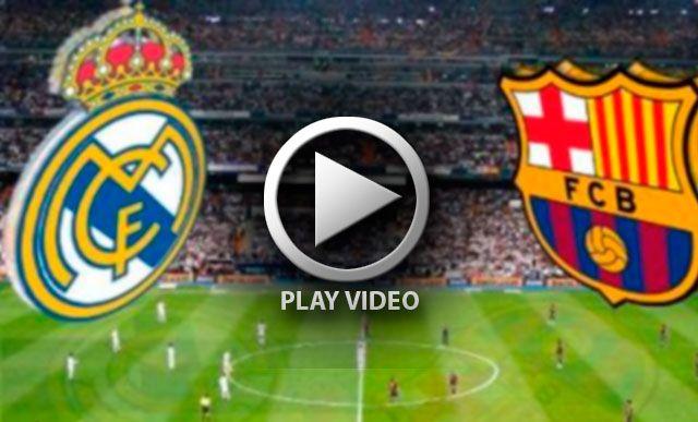 Opciones y horarios para ver el partido Barcelona vs Real Madrid en vivo por Internet a las 11:00 hrs. Fecha