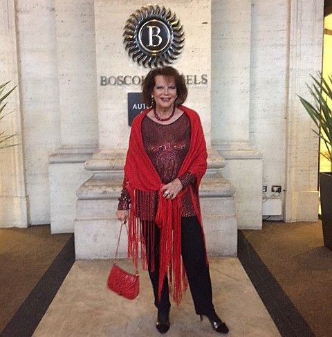 Claudia Cardinale at #BoscoloExedraRoma  #SpecialGuest