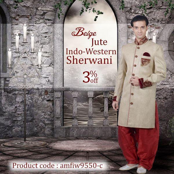 Choose the right Wedding Sherwani for Men this Wedding Season