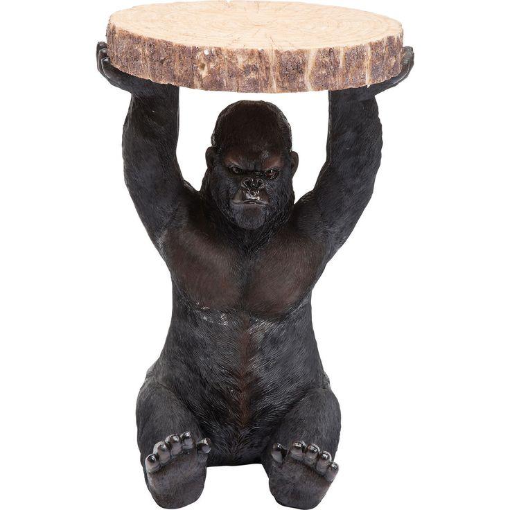 ARGGH! Inte helt illa med en gorilla i hemmet va? Jag ser ruskig ut - ruskigt snygg! Och jag tröttnar aldrig på att hålla upp dina favoritprylar - även om jag ser ruskigt missnöjd ut. Dessutom behöver du inte oroa dig över att jag ska få frispel och rymma med dina prylar. Jag står alltid stabilt där du ställer mig!  Läs mer om mig: https://goo.gl/LZCeMd