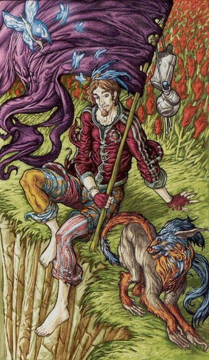 Universal Fantasy Tarot Par Paolo Martinello