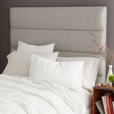 Panel-Tufted Headboard #westelm