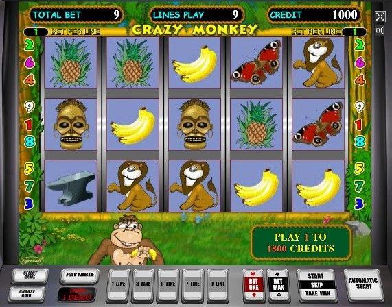 Играть в игровые автоматы крейзи манки бесплатно и без регистрации игровые автоматы сейчас онлайнi