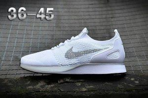 088ddf976145f Mens Womens Shoes Nike Air Zoom Mariah Flyknit Racer White Silver ...
