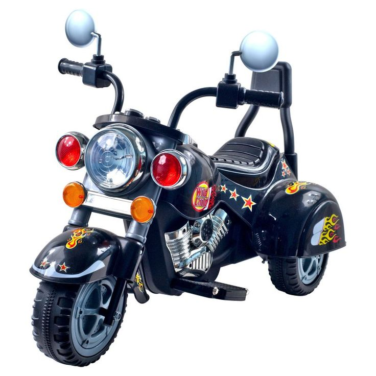 Lil Rider Harley Wild Child Motorcycle Battery Powered Riding Toy - 80-1616