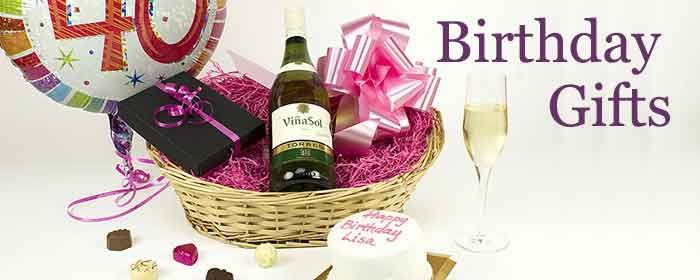 #Bradfords #Birthday #Hampers & Gifts are available to order for next day delivery or can be ordered in advance for the date of your choice. Our best selling baskets include an individual personalized Birthday Cake - however you can add this to any of the gifts shown below - for a more personal gift that will delight the recipient.