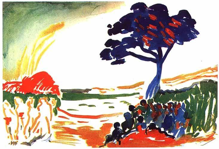 Andre Derain - 1906 - Composition