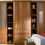 Get interior design ideas for fitted bedrooms, sliding doors, wood floorings, fitted wardrobes and furniture.