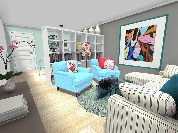 151 best images about roomsketcher blog on pinterest for Simple room divider ideas