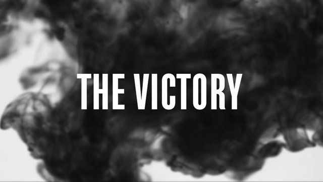 The Victory was made by Martine, Anniken and me as a school project. It got nominated for best music film at Amandusfestivalen.