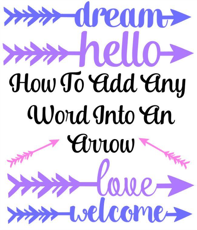 Up arrow in word