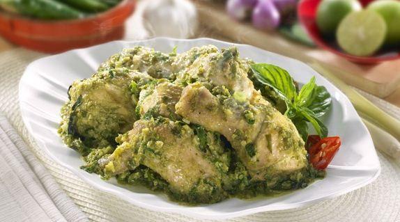 Resep Dan Cara Memasak Ayam Bumbu Hijau