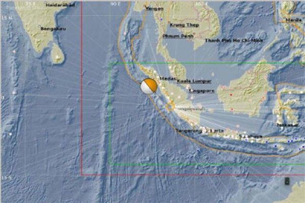 Mukomuko diguncang gempa 5,4 skala Richter